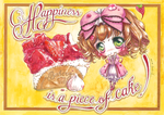 Happinesss Is A Piece of Cake! by AsahinaX