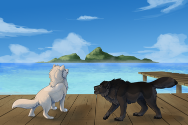 Distant Shores/What's Out There by JadeRavenwing
