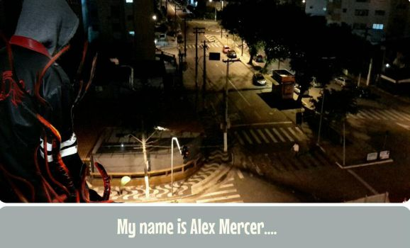 My name is Alex Mercer... Thiago Capella cosplay by marcoscapella