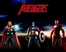 Avengers by Photopops