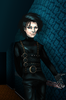 Edward Scissorhands [Twist Fate contest] by PandaggieZ