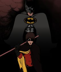 Batman and Robin: Sons Of Tragedy WIP by kay-sama