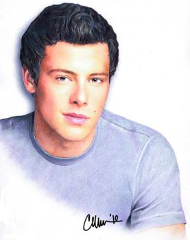 Cory Monteith - Drawing by Live4ArtInLA