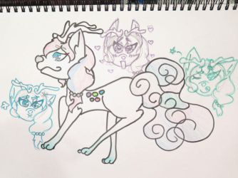 Lisanna's New Ref(?) by Etrenelle