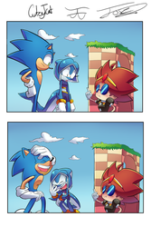 Sonic Legacy No one takes omelette seriously by Pepe201