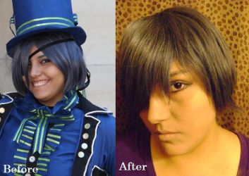 Ciel Before and After by NobleTanu