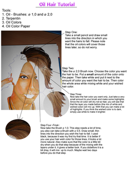 Hair Tutorial Oil Colors by Cheraldin