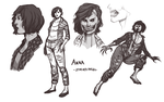 Starved Angel Character Concept by BleedingHeartworks