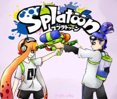 splatoon anime by yaita-chan