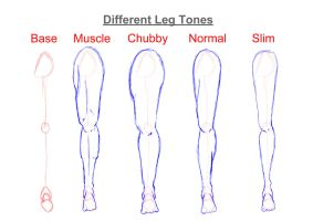 Helping Artist: How To Draw Legs by Vesenia