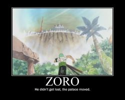 Zoro Motivational by SolidSnakeTSF