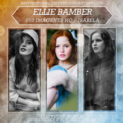 Photopack 13161 - Ellie Bamber by southsidepngs