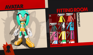 What if aleana...was in sonic forces? [AVATAR] by xXAlshaniXx
