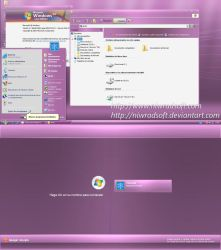 Live Pink Remix XP 4.0 by Niwradsoft