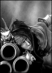 Vincent Valentine _GAME_OVER_ by Cataclysm-X
