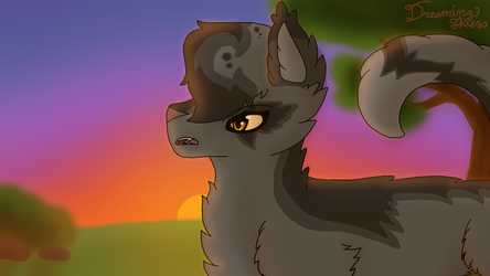 Grey Wing from Warrior Cats by DreamcatcherSkies16