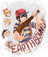 Happy Annivers Earthbound! by Nandronjay