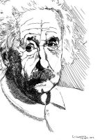 Albert Einstein by Artsgeek