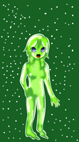 jella the slime girl by yumethenekomata