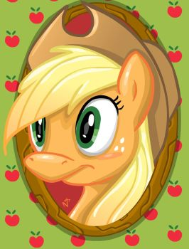 Apple Jack by nachotoonz