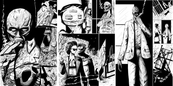 Hellraiser DVD  Inks 3pages by DougSQ