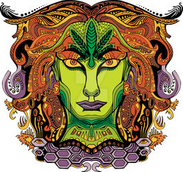 Goddess Of Thc by PrettyNormalMedia