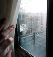Watching the rain. by Ginkoftw