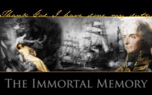 Wallpaper: The Immortal Memory by xpirateobsessedx