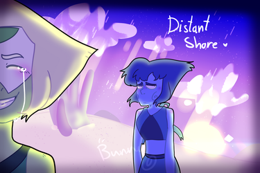 distant shore - steven universe fanart by Bunnythehopper1234