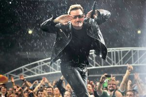 U2 in Moscow 19 - Bono by WilliH