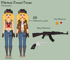 Hetalia - Marlene Reference Sheet by theRainbowOverlord