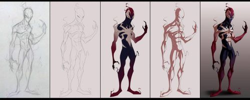 Ultimate Symbiote [WIP] by COLOR-REAPER