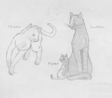 Warrior Cats - Family 1 by SaAsMiAoNa