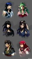 Fire Emblem: Awakening by akreon