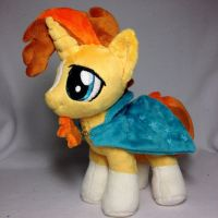 Sunburst - Plushie Pony by Burgunzik