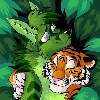 IN THE JUNGLE THE QUIET JUNGLE by LadyUndead