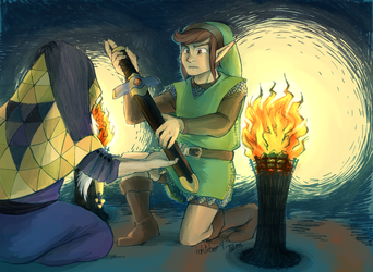 It's Dangerous to Go Alone by TemBrook