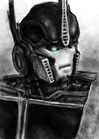 Prime - Optimus Prime by T-M-Wolf