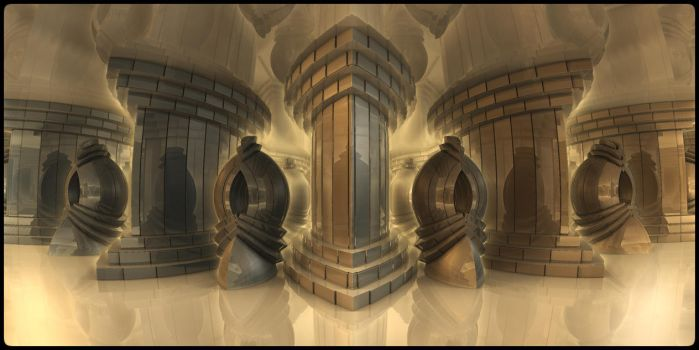 Hall of mirrors by kr0mat1k