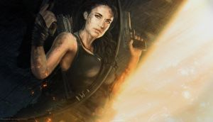 Lara Croft _ Tomb Raider by Straban