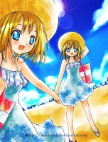Twins in Summer by arielucia