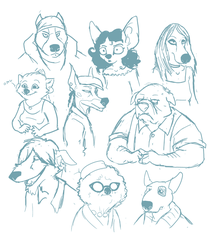 DOGGES by skurvies