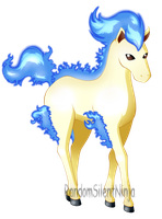 Fire Type Collab - Shiny Ponyta