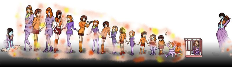 [Request] Daphne and Velma's Age Regression by HannaEsser