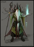 Wizard, Mage, Magician Concept by Cloister
