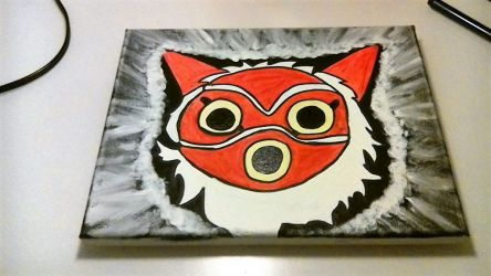 Princes Mononoke mask by japaneselover12
