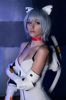 Evangelion - Rei Ayanami by Axilirator