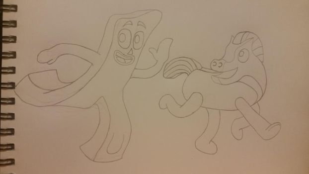 (WIP) Gumby  Pokey by PuttyBaron