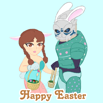 Happy Easter by TheYUO