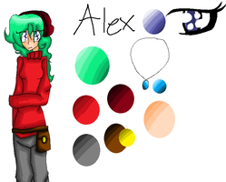 Alex :REF: by Bonnieart04